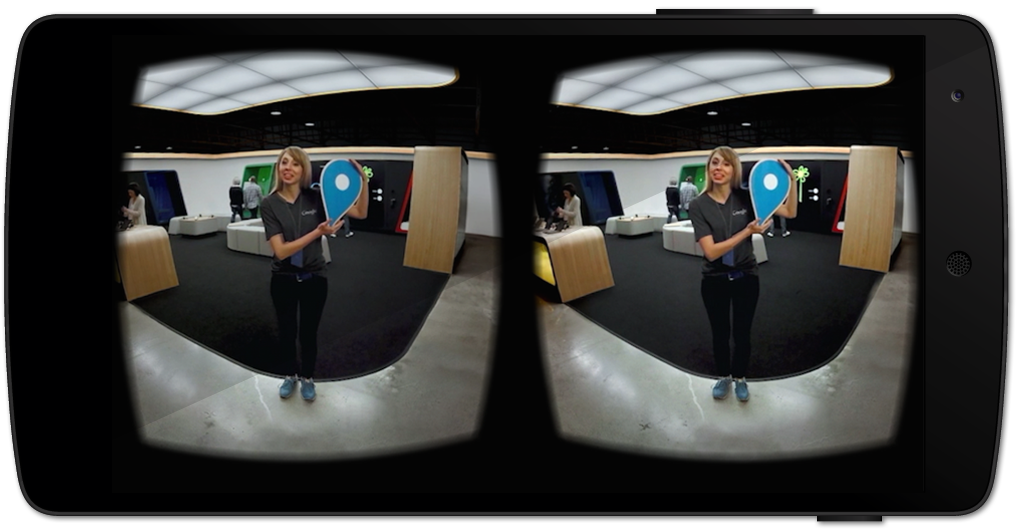Google Shop at Currys PC VR Tour - Promotional Virtual Reality App