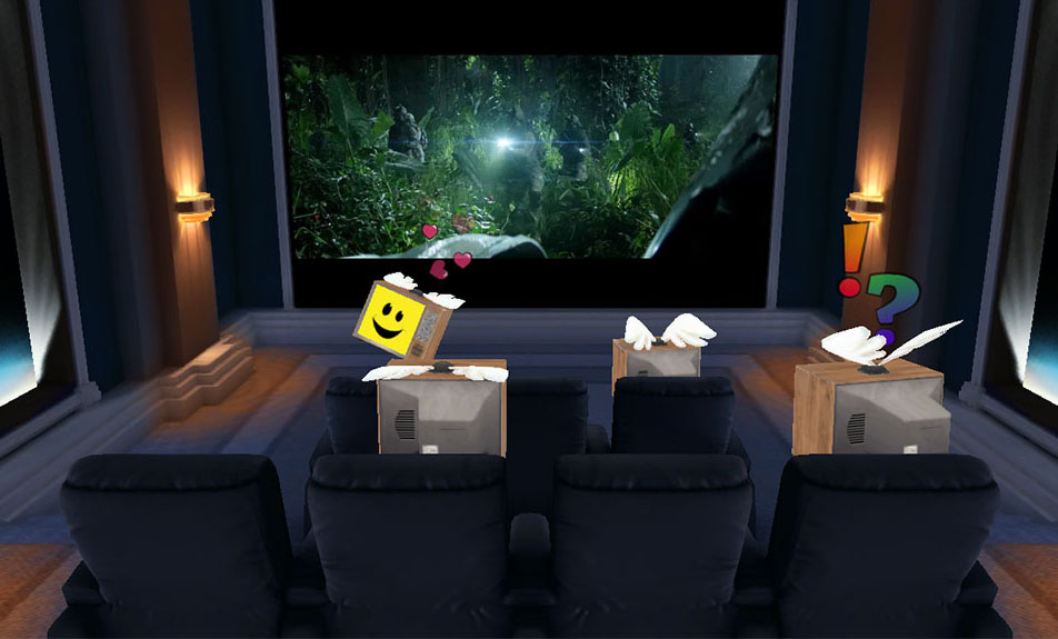 Multi-User Theater - Shared Virtual Reality